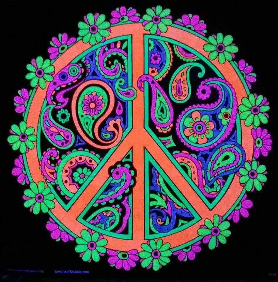 Wallpaper Of Peace: Hippie Art Wallpapers