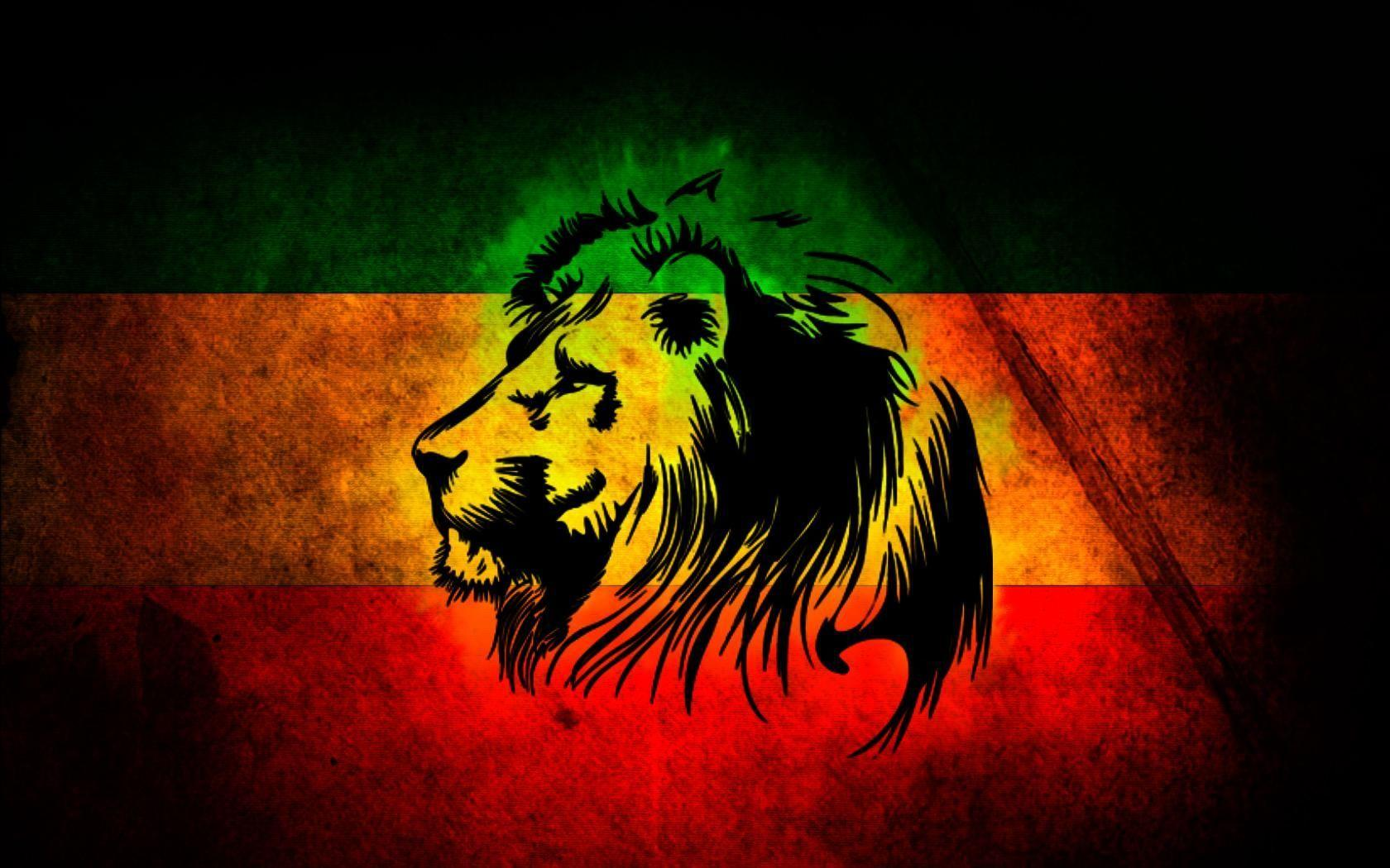 Lion Of Judah Rasta Wallpapers Wallpaper Cave