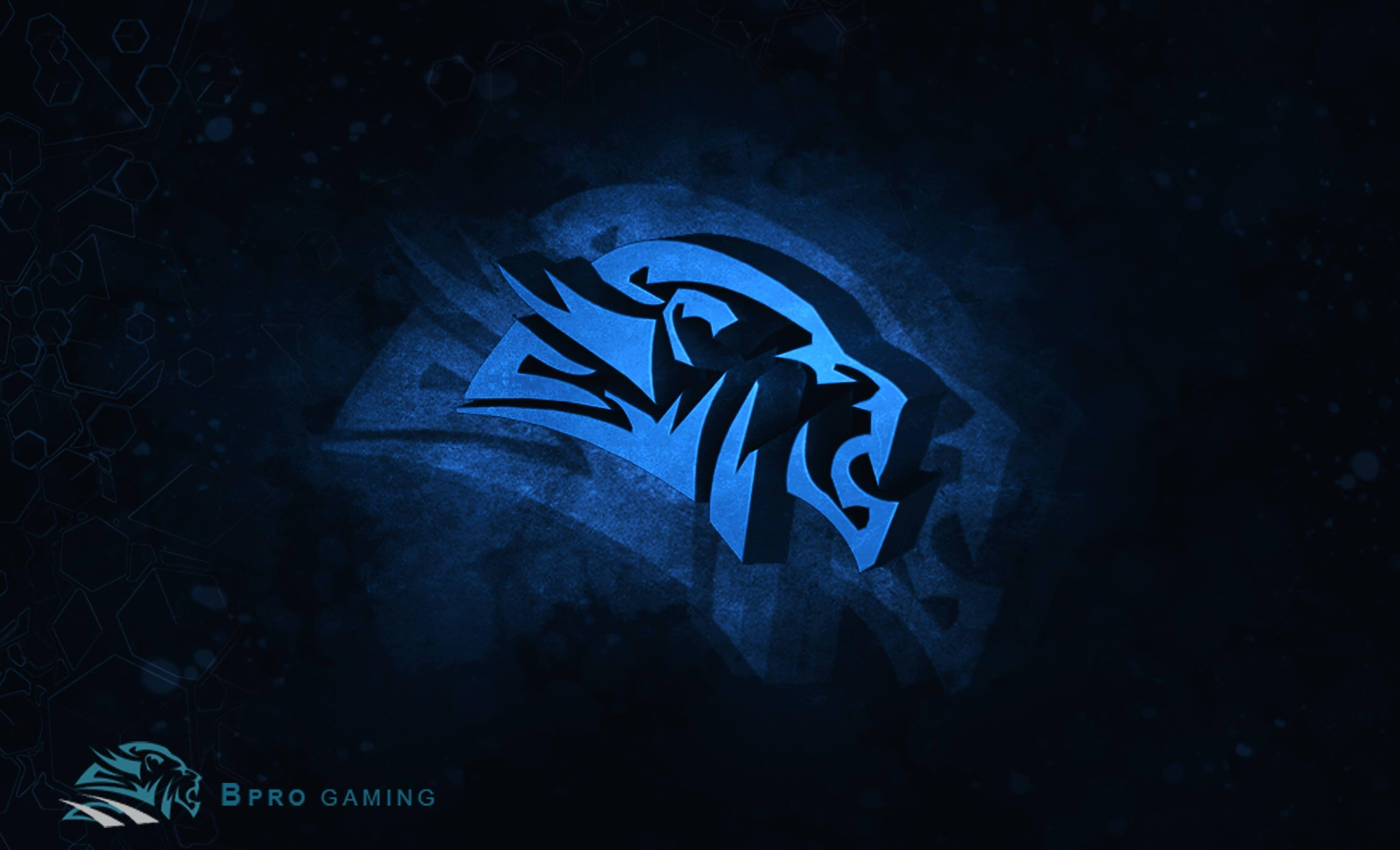 Blue Gaming Wallpapers Wallpaper Cave