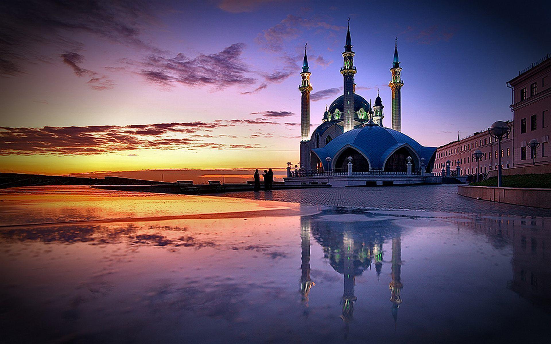Картинки мечети с надписью