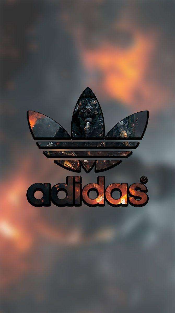 size 40 be77e d33b2 Adidas Lock Screen Logo Wallpaper For Iphone by lukejacobs02 on .