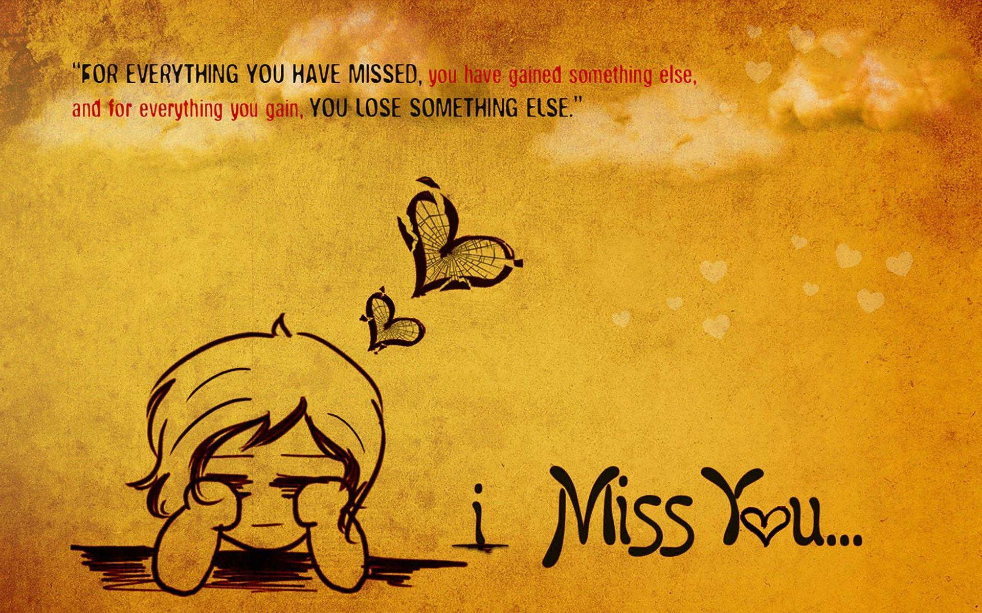 I Miss U My Love Wallpapers Wallpaper Cave