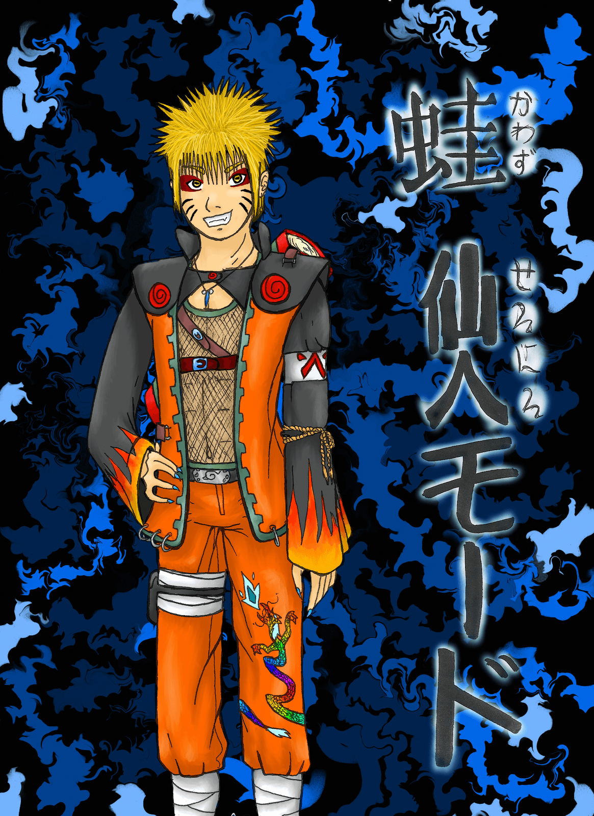 Uzumaki Naruto Sage Mode Wallpapers HD - Wallpaper Cave