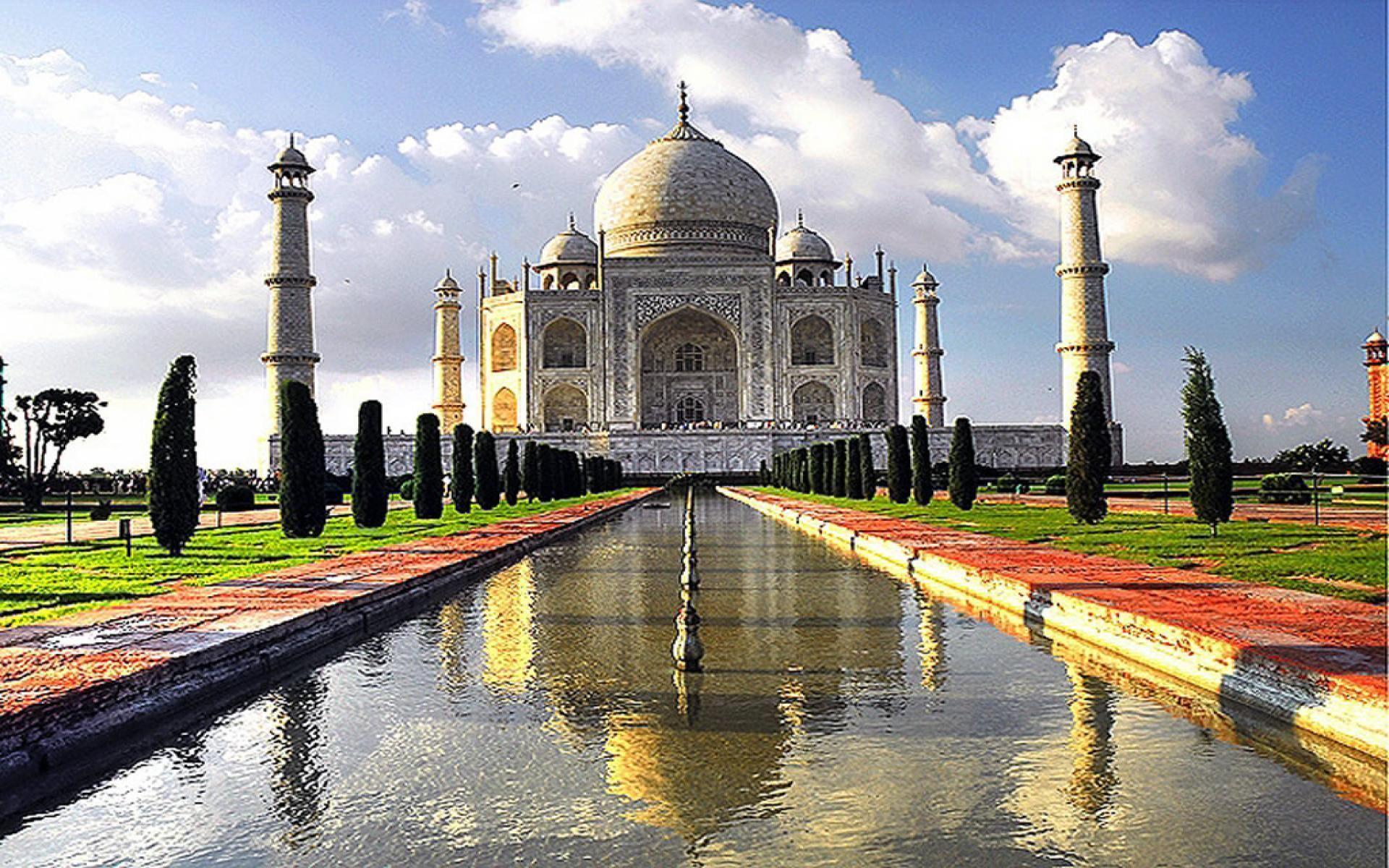 Taj Mahal 3d Image: Taj Mahal At Night Wallpapers 3d