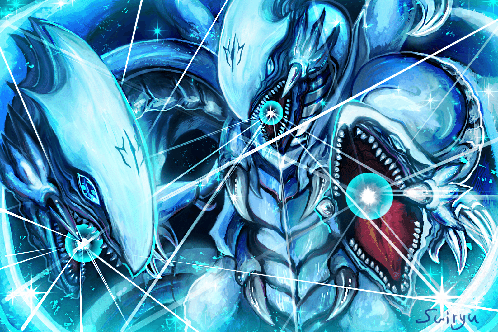 Yugioh Blue Eyes White Dragon Wallpapers - Wallpaper Cave