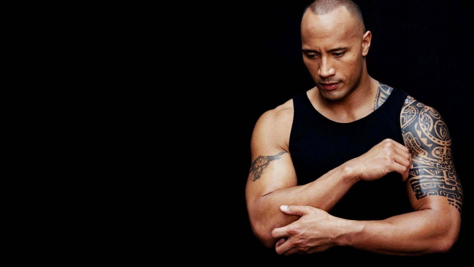 The Rock Wwe Dwayne Actor Hd Wallpaper