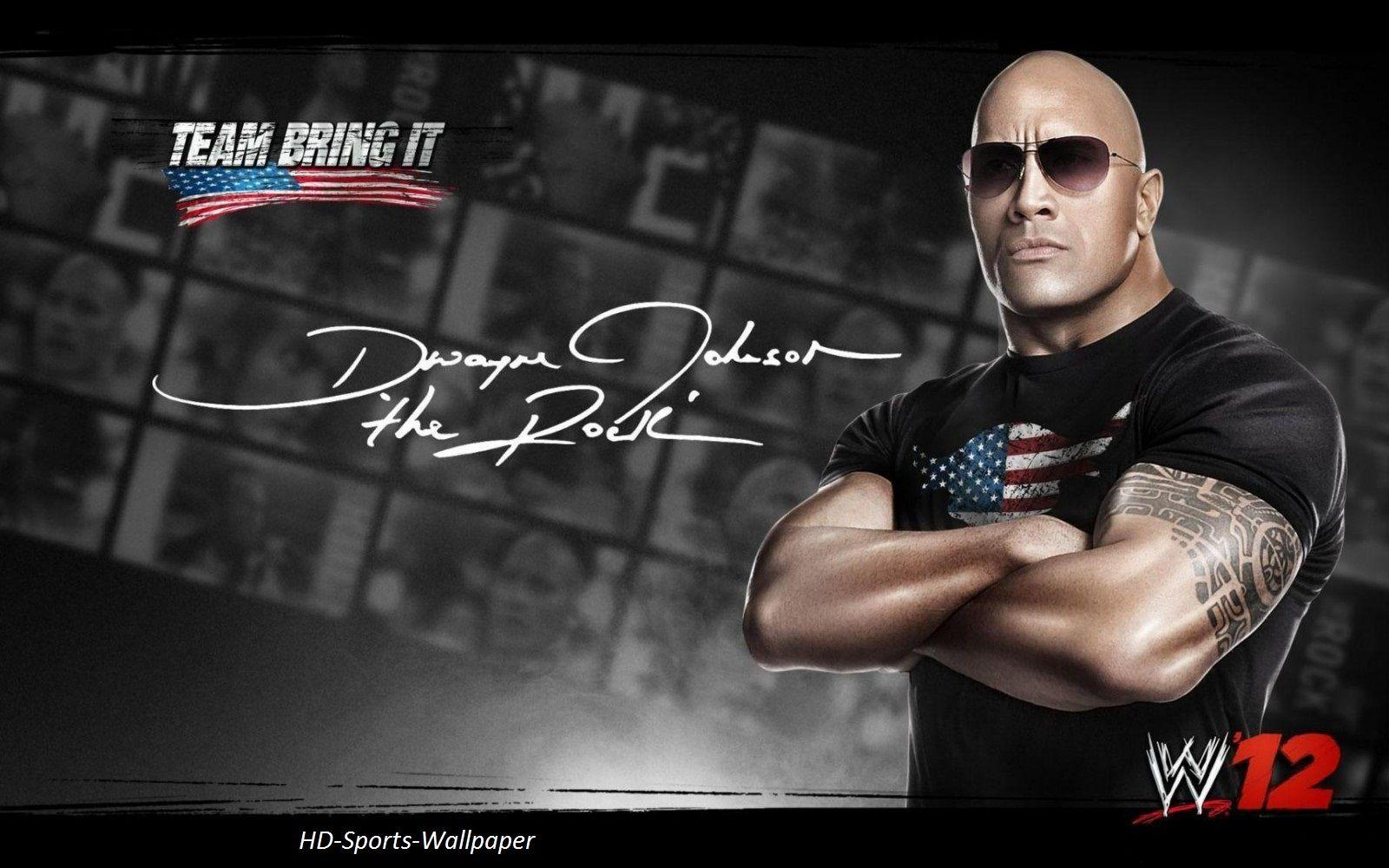 HD Sports Wallpaper: The Rock