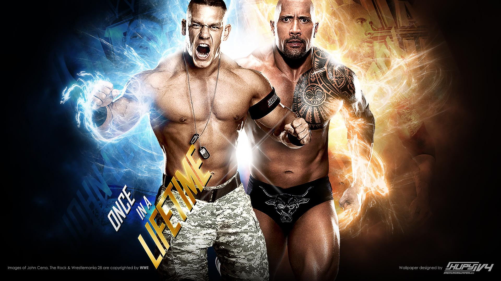 NEW Road to WrestleMania 28: John Cena vs. The Rock Once In A