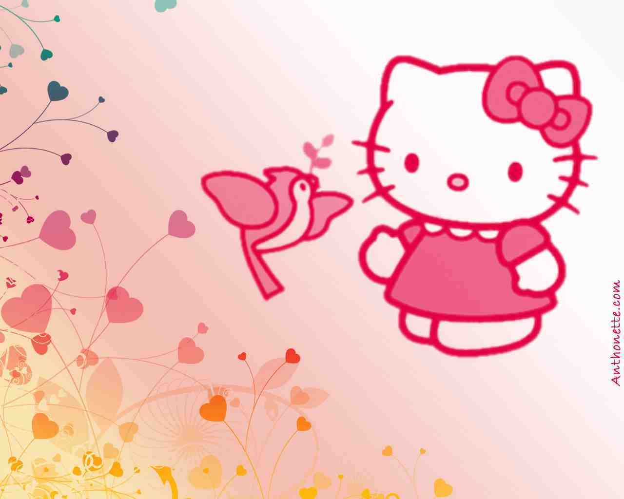 Backgrounds Powerpoint Hello Kitty Wallpaper Cave