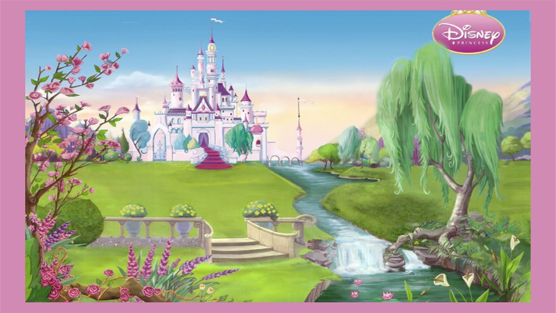 Disney Princess Castle Wallpapers Wallpaper Cave