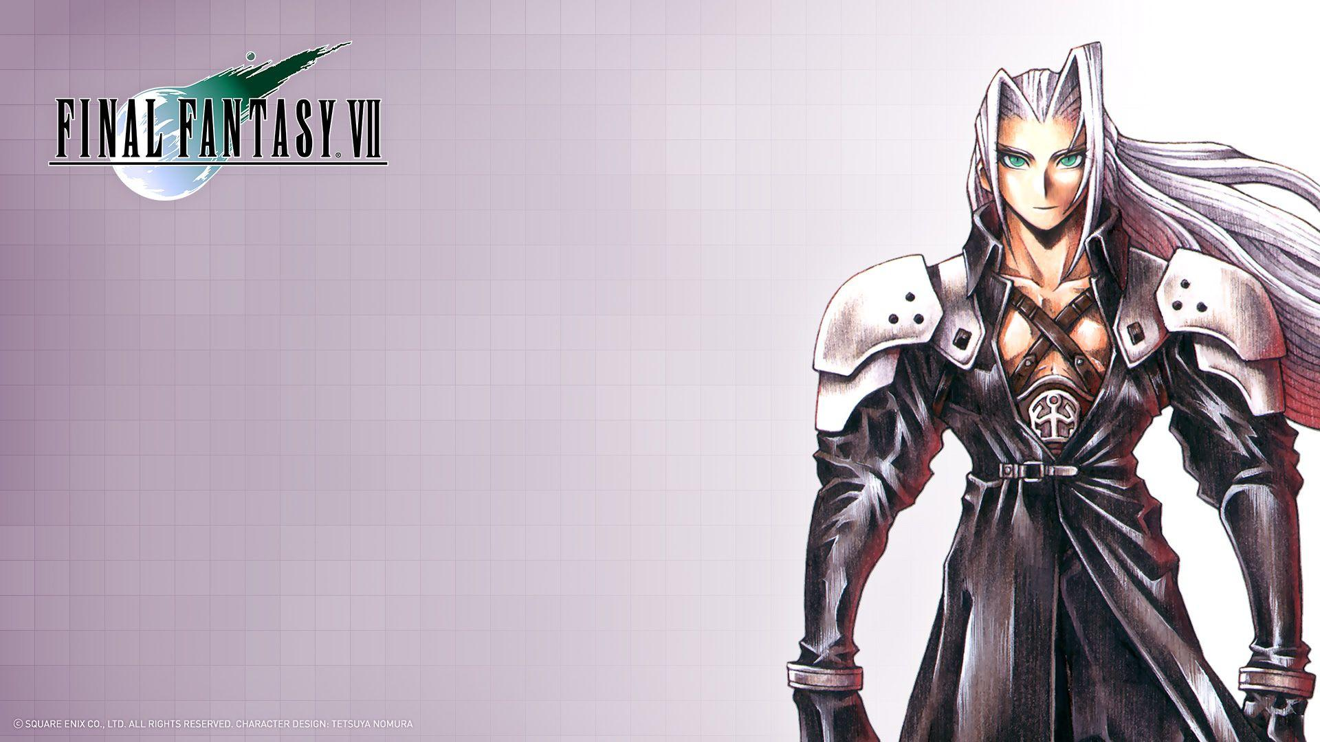 Final Fantasy 7 Sephiroth Wallpapers HD - Wallpaper Cave