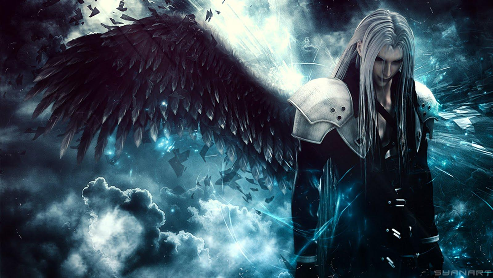 Final Fantasy 7 Sephiroth Wallpapers Hd Wallpaper Cave