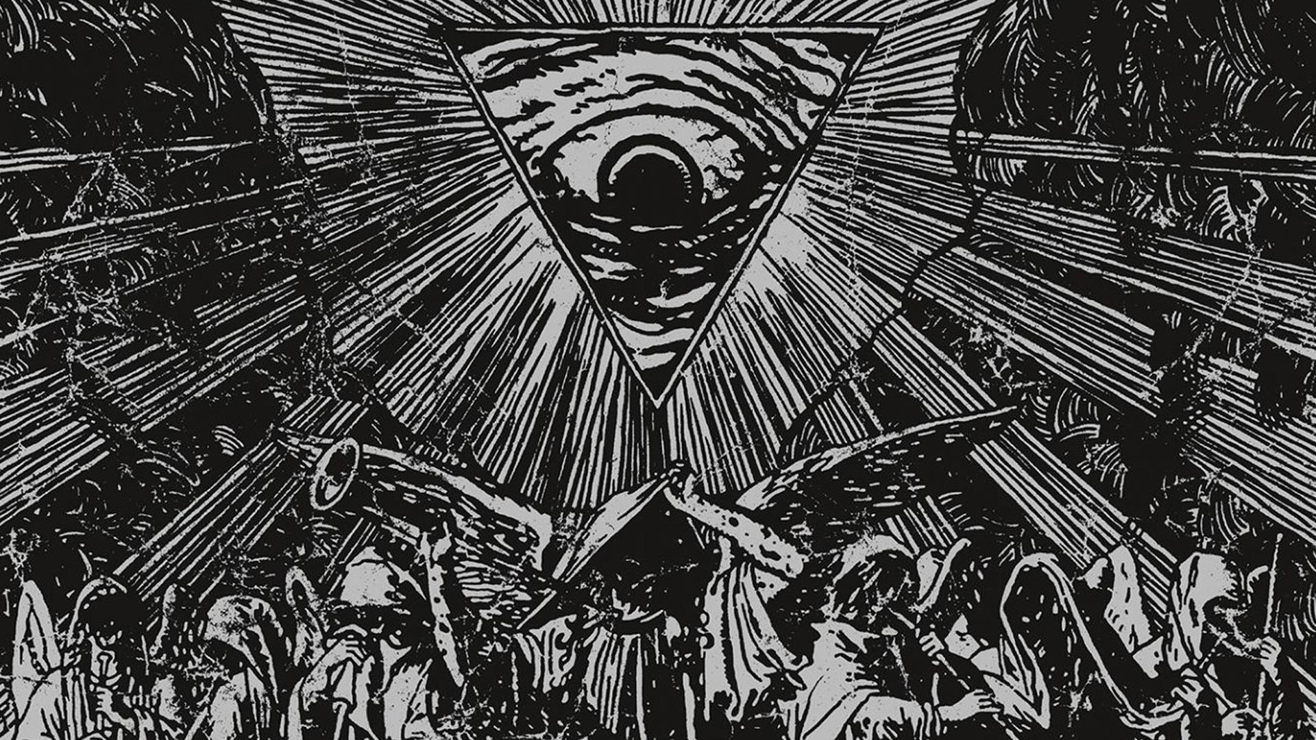 Orchestra Album Covers Black Metal Pyramids Watain Wallpaper