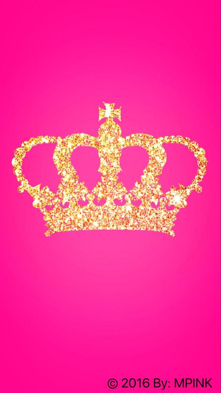 Glitter Princess Crown Wallpaper Created By Me FOR MORE FOLLOW ON