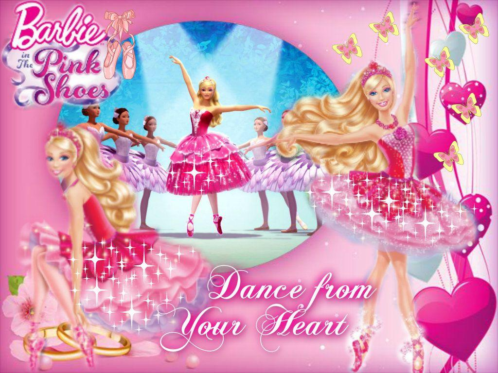 Barbie Pink Backgrounds Wallpapers Cave Desktop Background: Wallpapers Barbie Pink