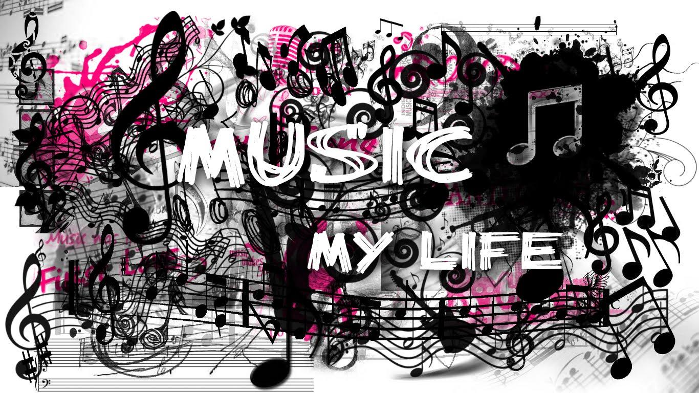 Music Is My Life Wallpaper Wallpapers For Desktop
