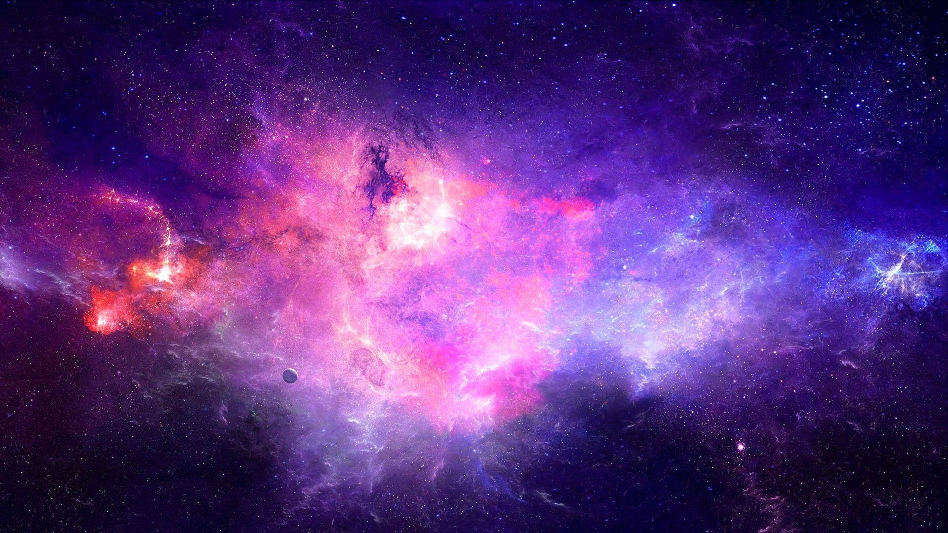 Purple Galaxy Backgrounds Wallpaper Cave