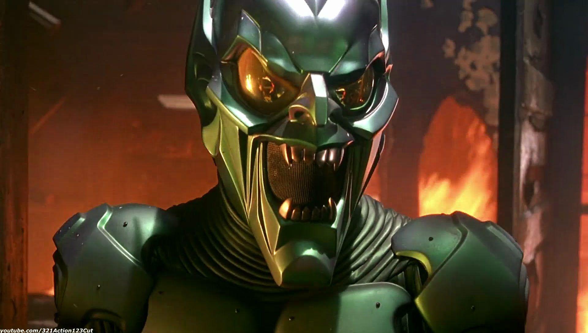 Spiderman Green Goblin
