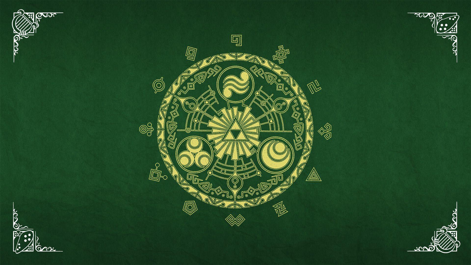 Legend Of Zelda Backgrounds Triforce Wallpaper Cave