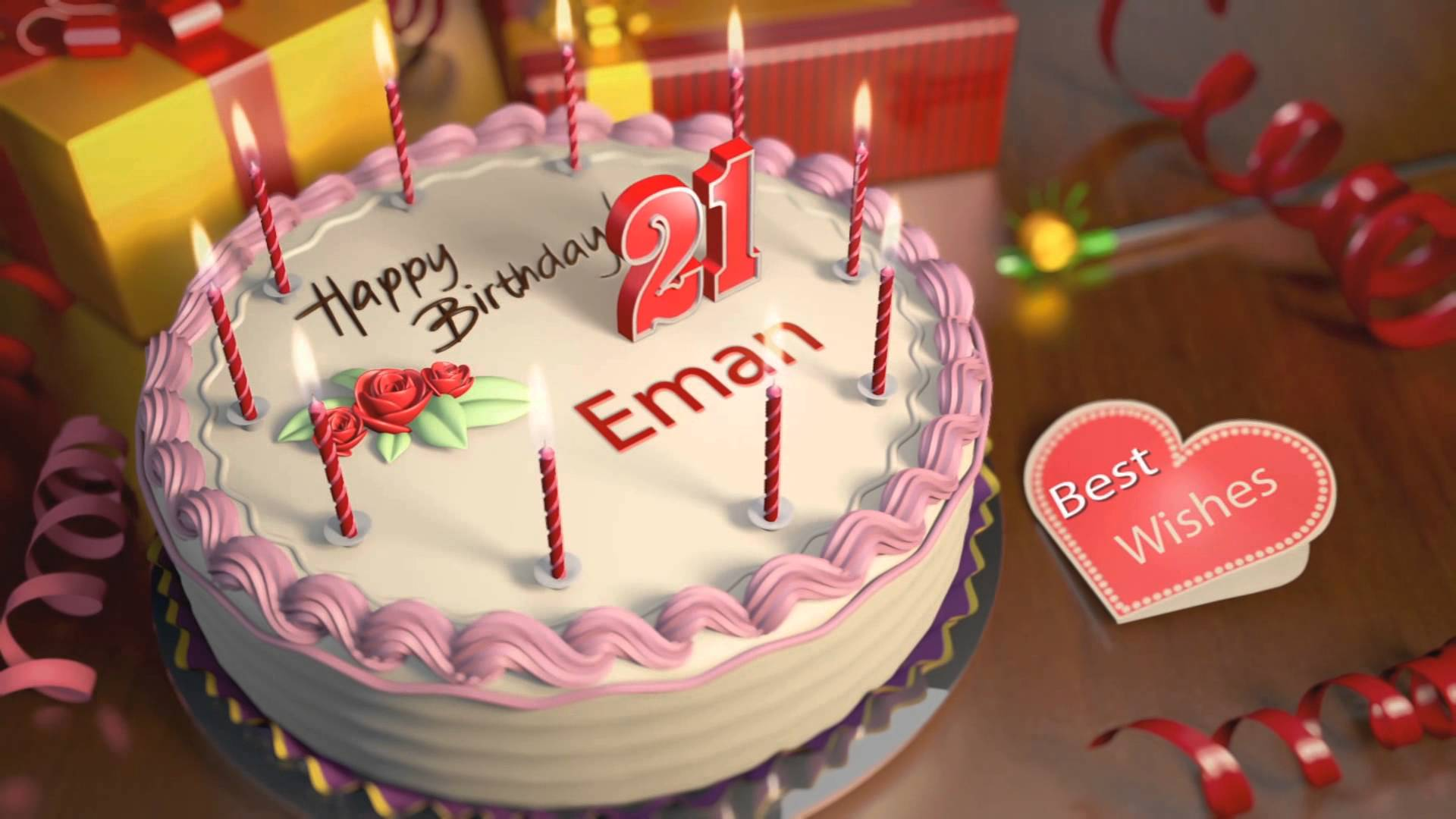 Happy Birthday Ifra Wallpapers Wallpaper Cave