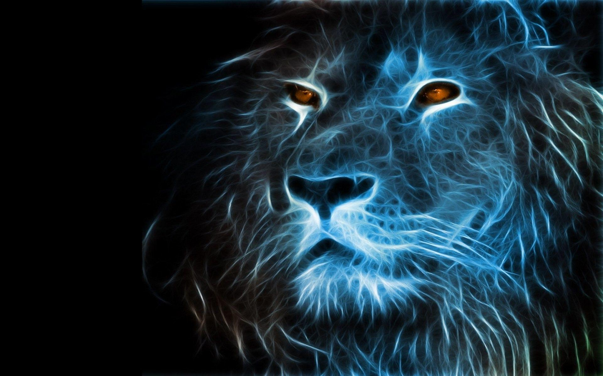 Trippy Lion Wallpaper Golfclub