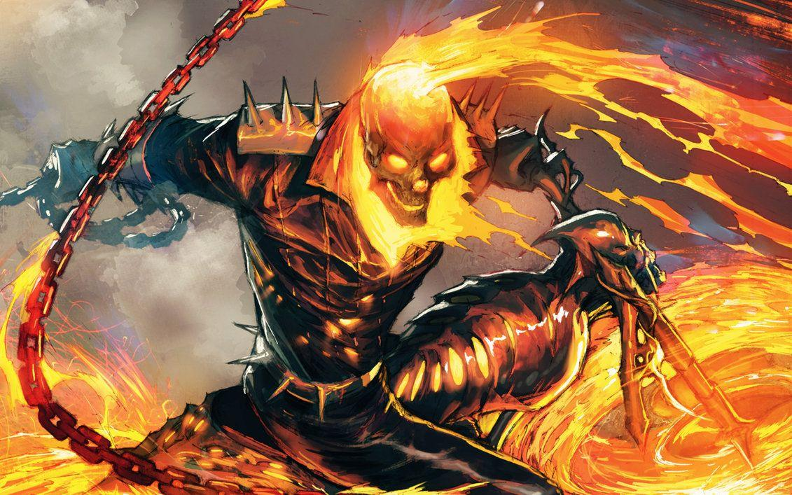 Ghost Rider Wallpapers 2 by Spitfire666xXxXx
