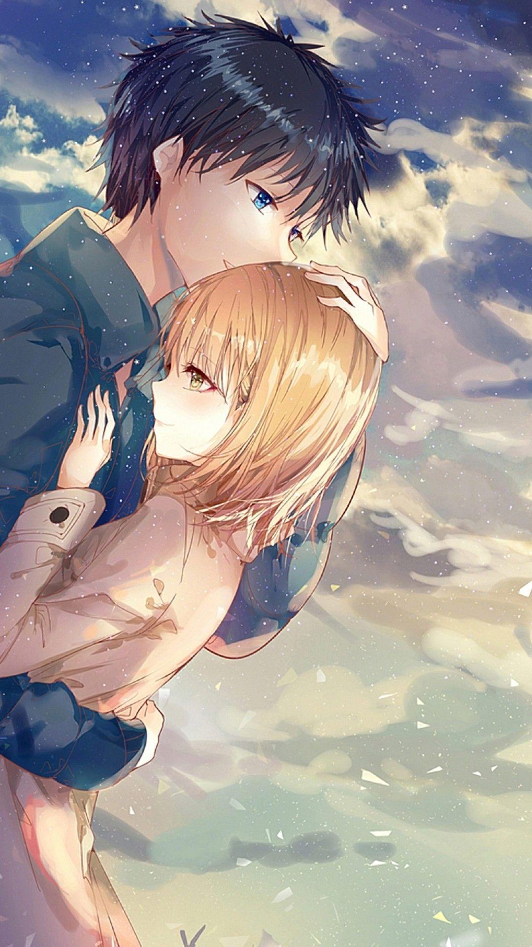 Romantic Anime Couples Wallpapers Wallpaper Cave
