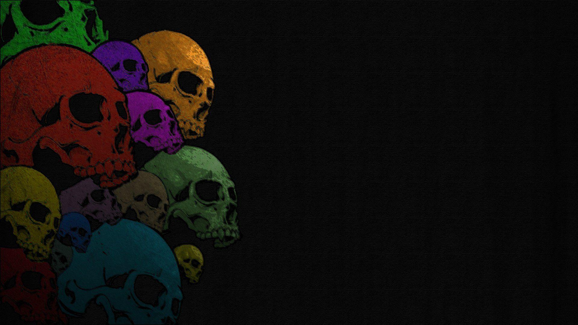 Purple Skull Wallpapers Wallpaper Cave