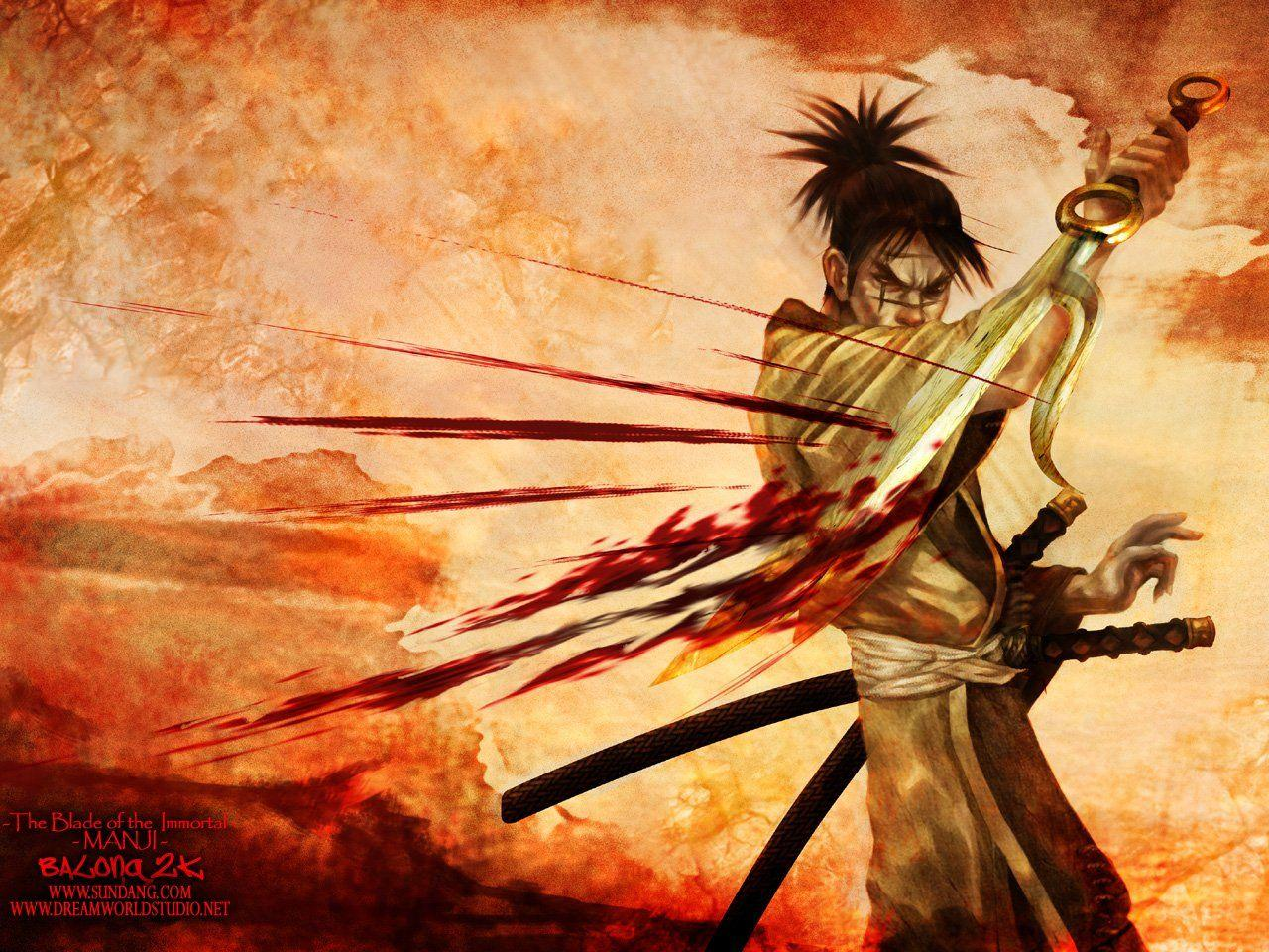 Blade Of The Immortal Wallpapers Wallpaper Cave