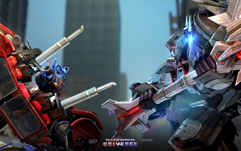 Transformers prime optimus prime wallpapers wallpaper cave - Transformers cartoon optimus prime vs megatron ...