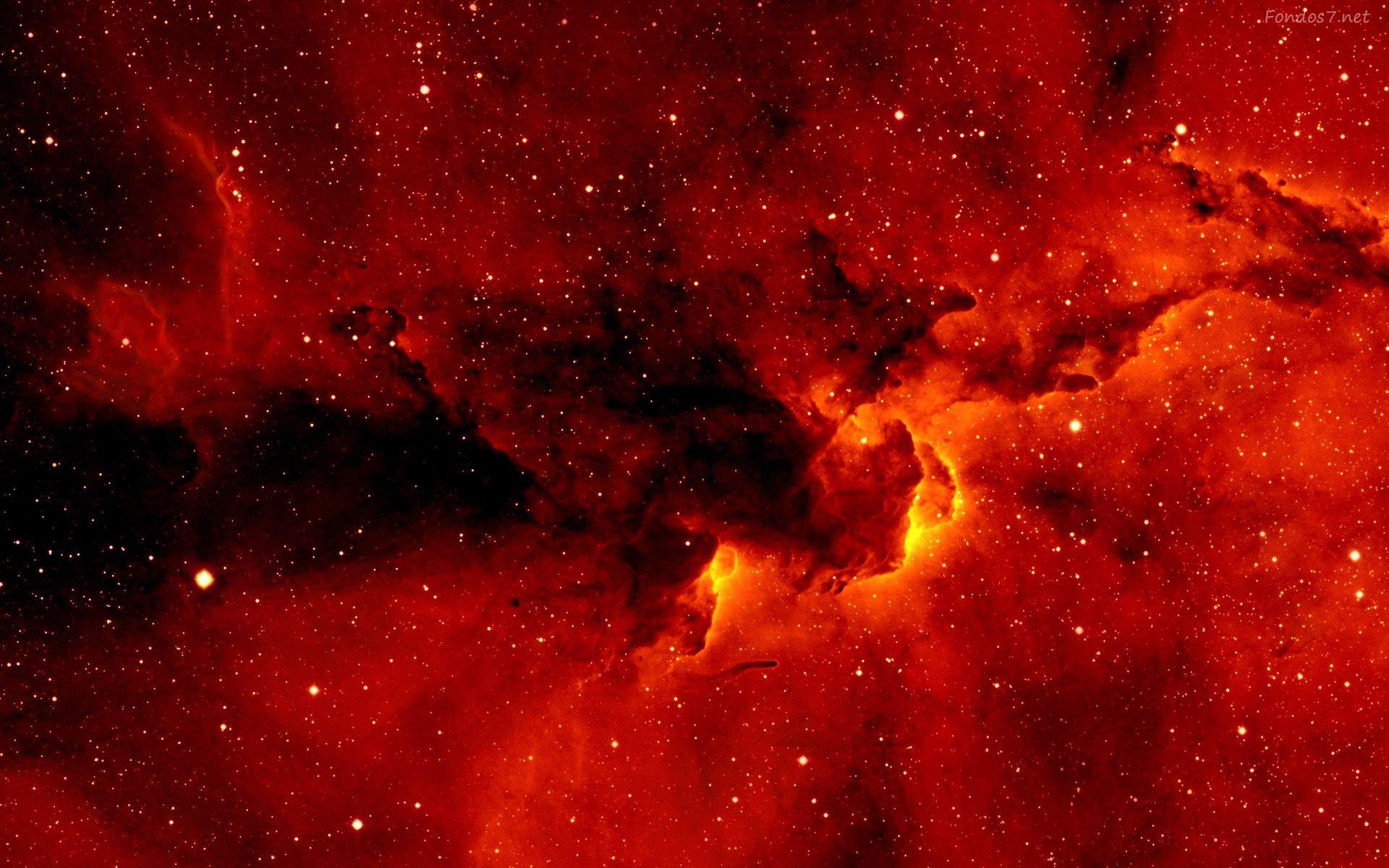 6b95157ed galaxia-roja-4227.jpg (1920×1200) | Galaxias | Pinterest