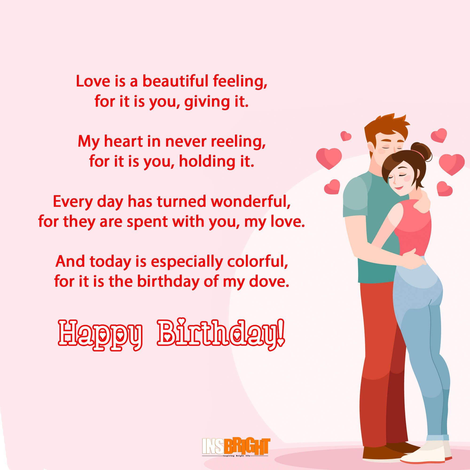 Birthday wishes for my wife