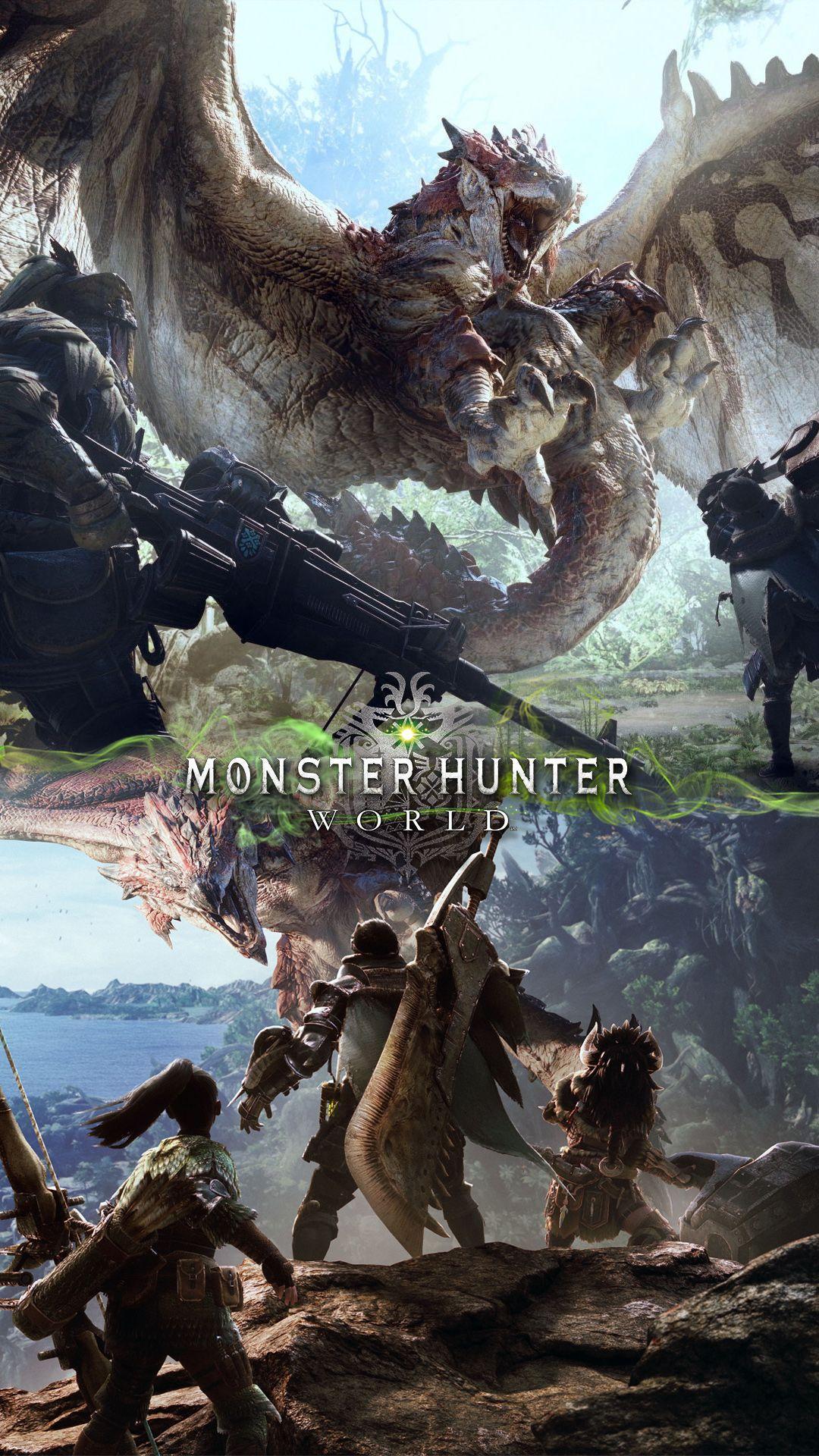 monster hunter phone wallpaper
