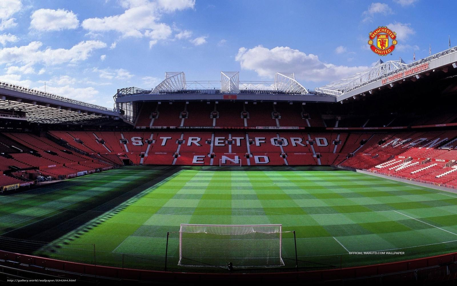Football Stadium Old Trafford Hd Wallpaper Wallpaper Cave