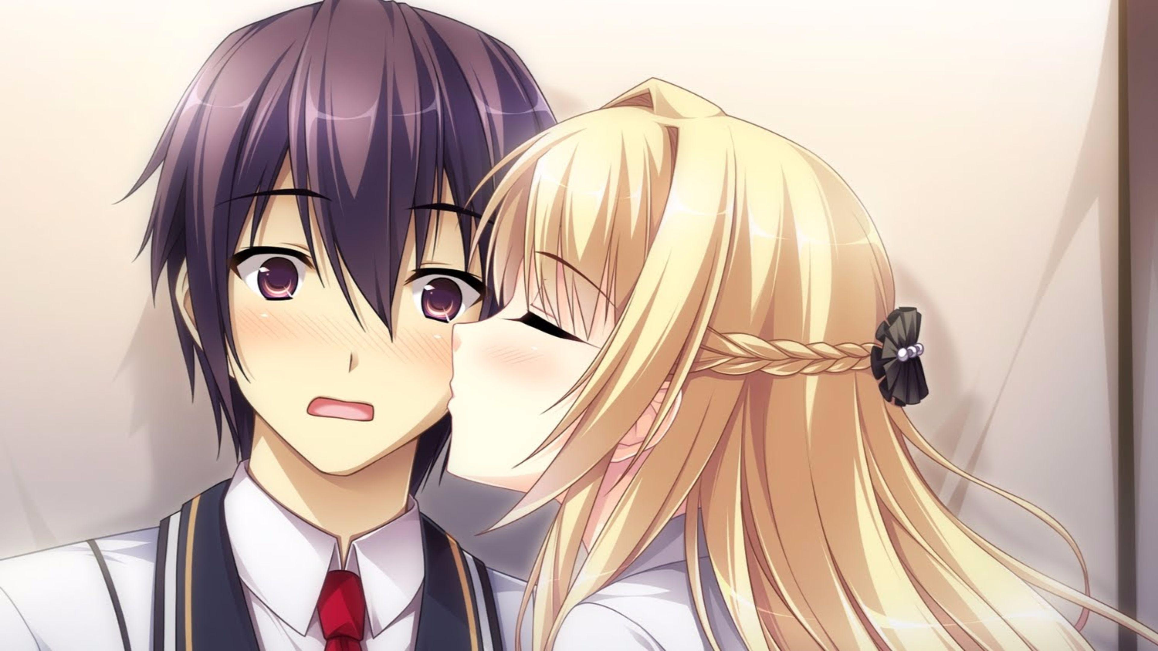Kiss anime wallpapers wallpaper cave - Best anime picture hd ...