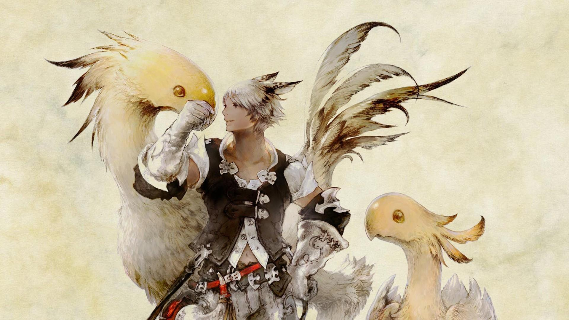 Final Fantasy Chocobo Wallpapers Wallpaper Cave