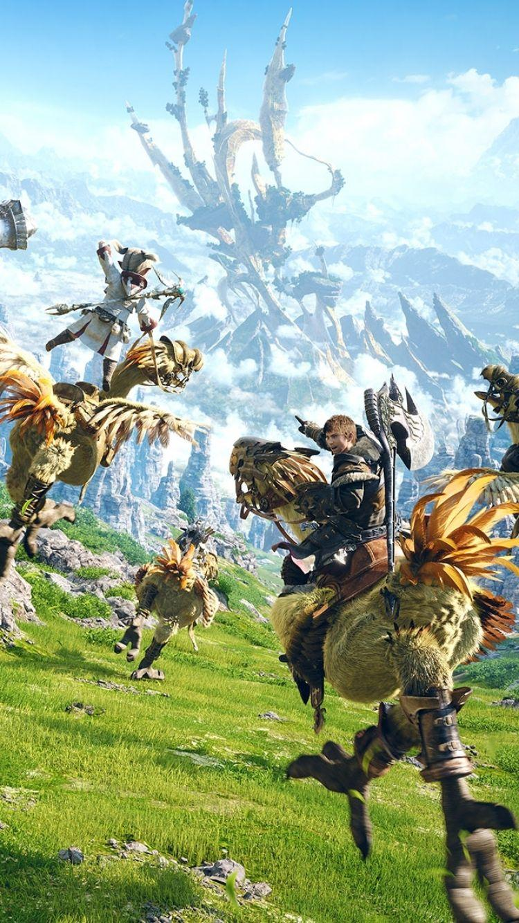 Final Fantasy Chocobo Wallpapers