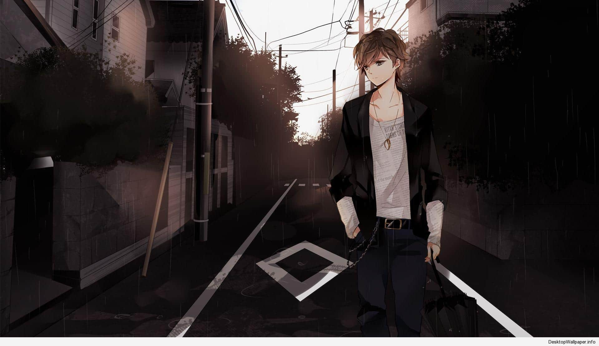 Hd Anime Boy Wallpapers Wallpaper Cave