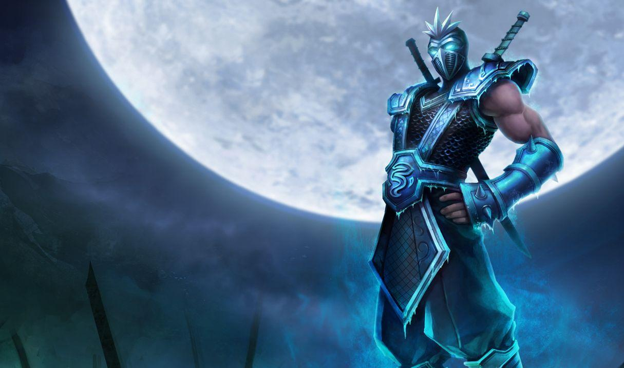 League Of Legends Backgrounds Shen Skin Wallpaper Cave