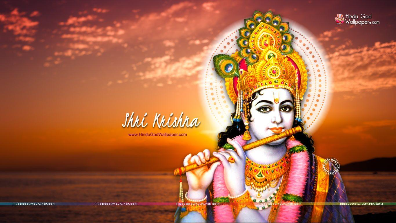 Shri Krishna HD Wallpapers for Desktop Free Download