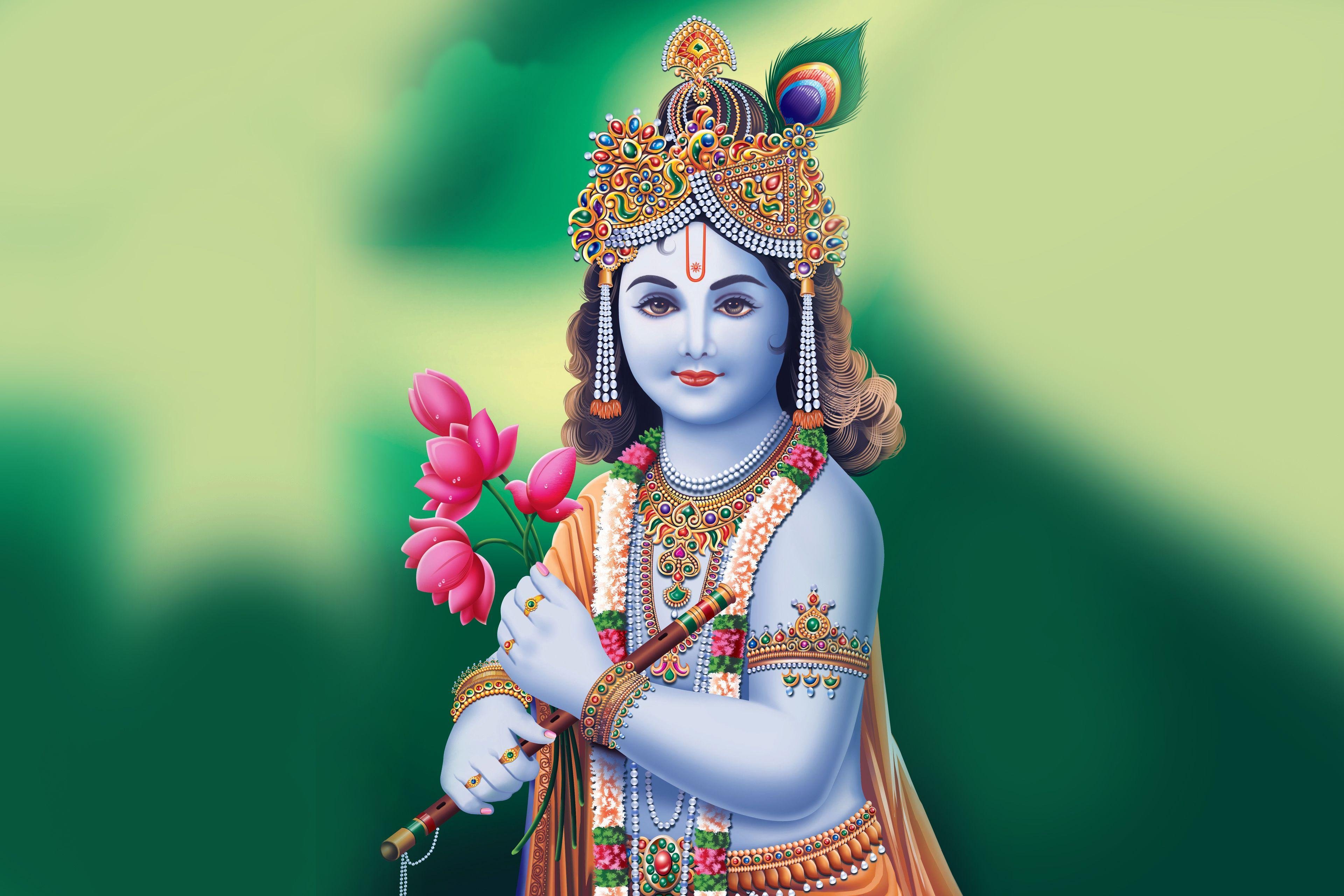 Shree Krishna Wallpapers HD - Wallpaper Cave