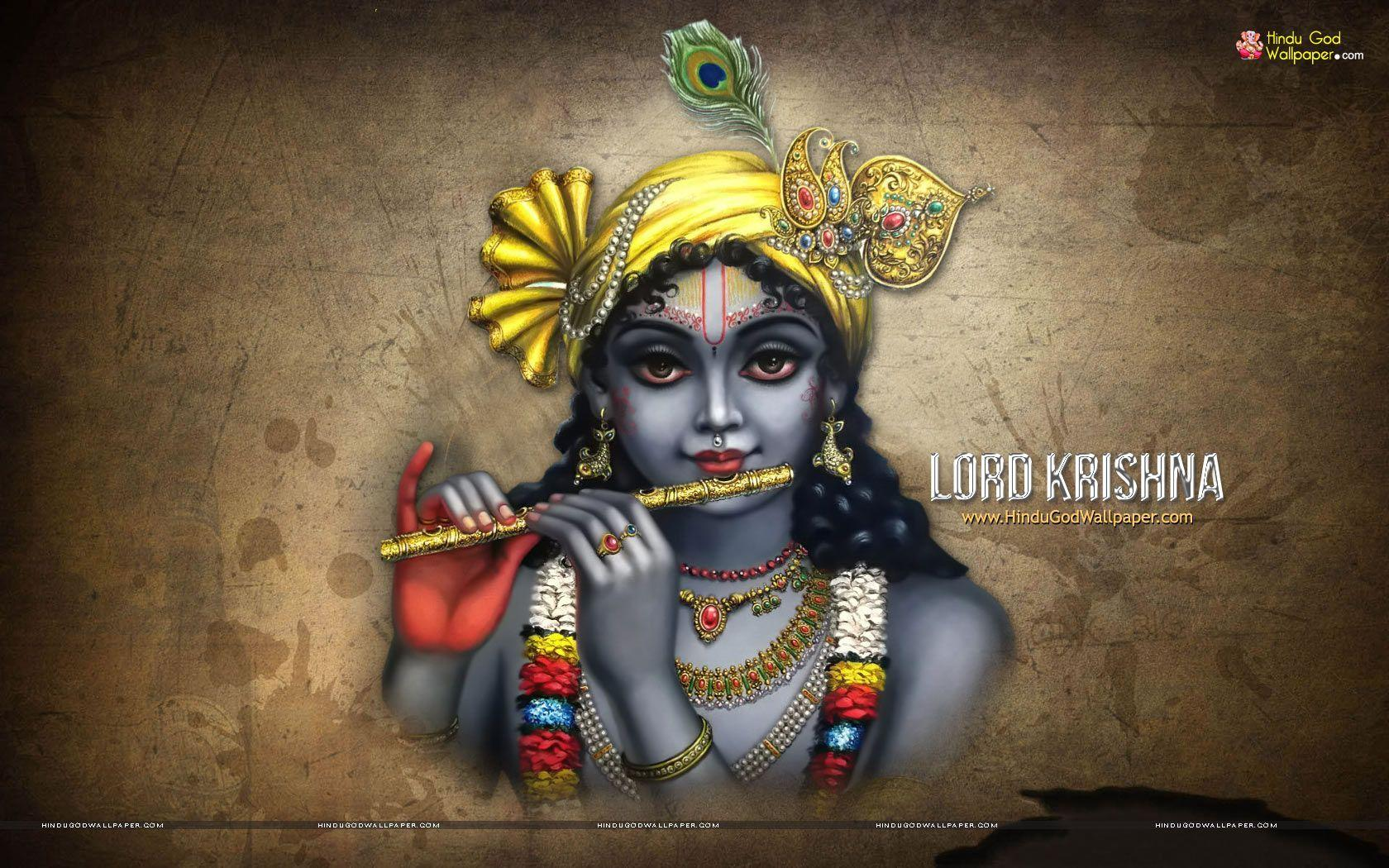 1680x1050 Shree Krishna HD Wallpapers Free Download