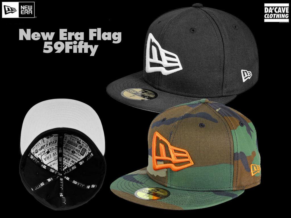 e342c683 New Era 59fifty Originals Flag and Script series - Da'Cave Store .