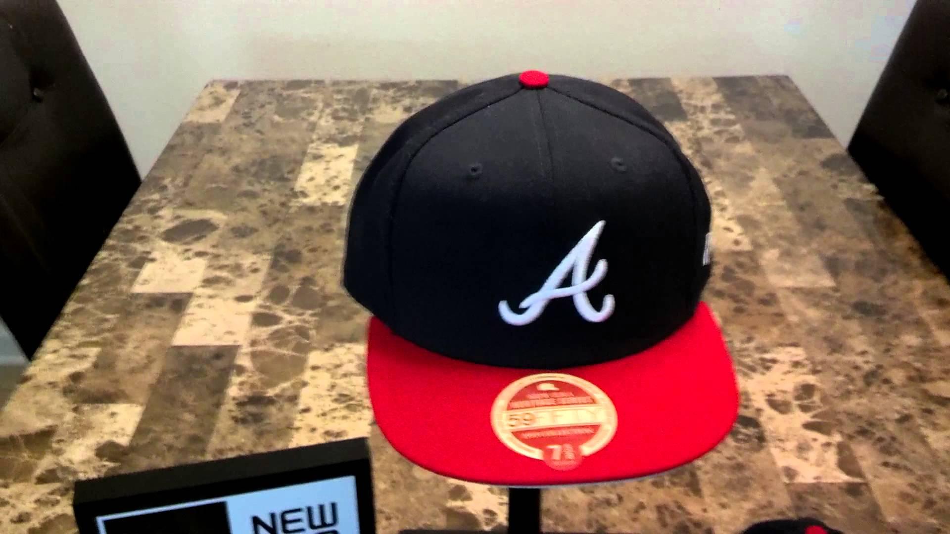 8565d1cc New Era Heritage Series 1993 Atlanta Braves 59FIFTY Cap - YouTube