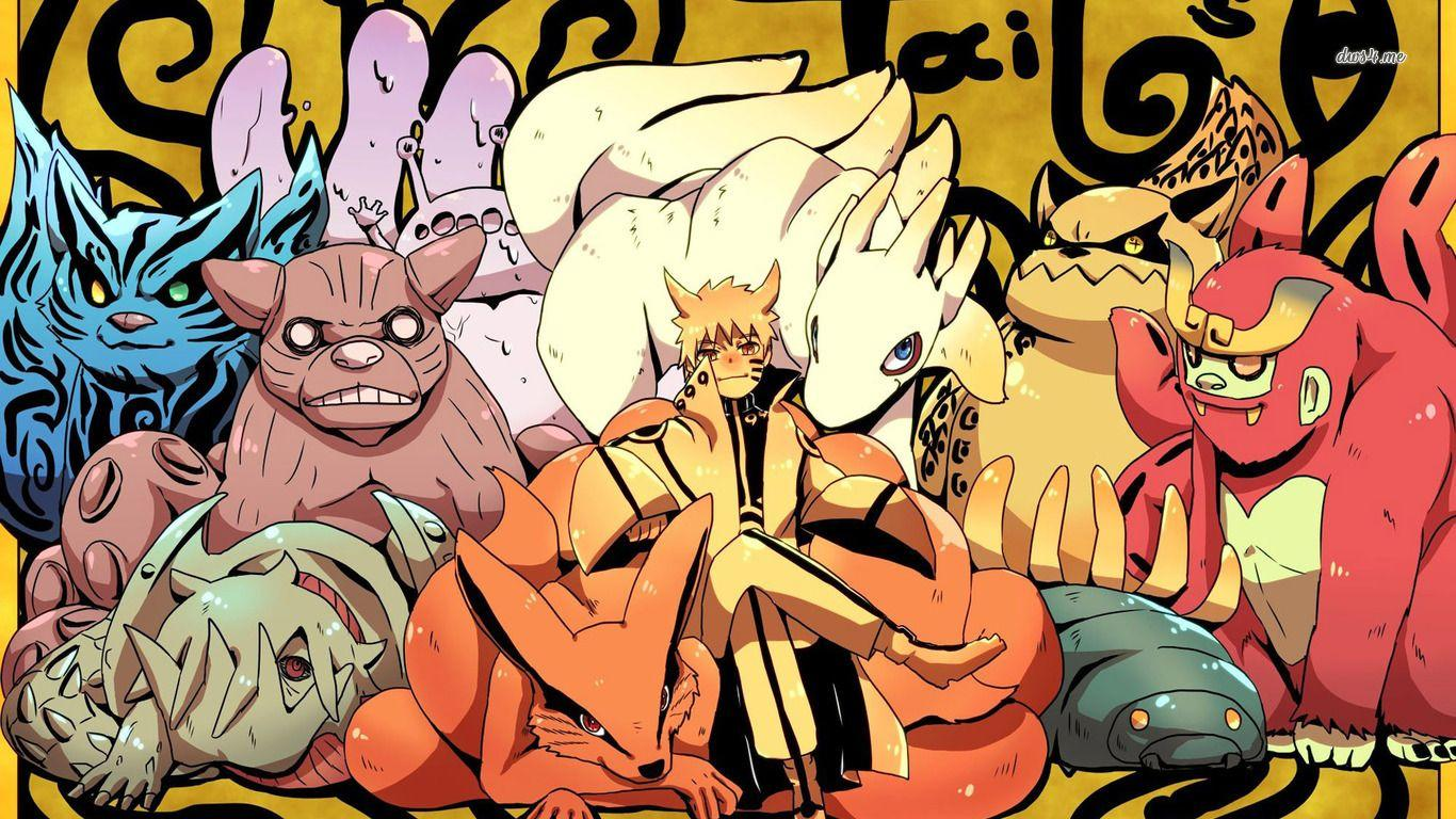 0 Tails Naruto 1920x1080 naruto shippuden all tailed beast wallpapers