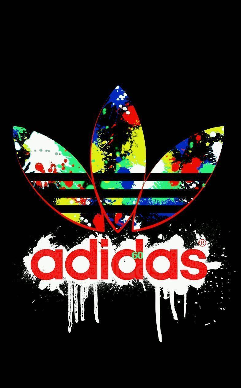 Adidas logo sfondi hd carta da parati caverna