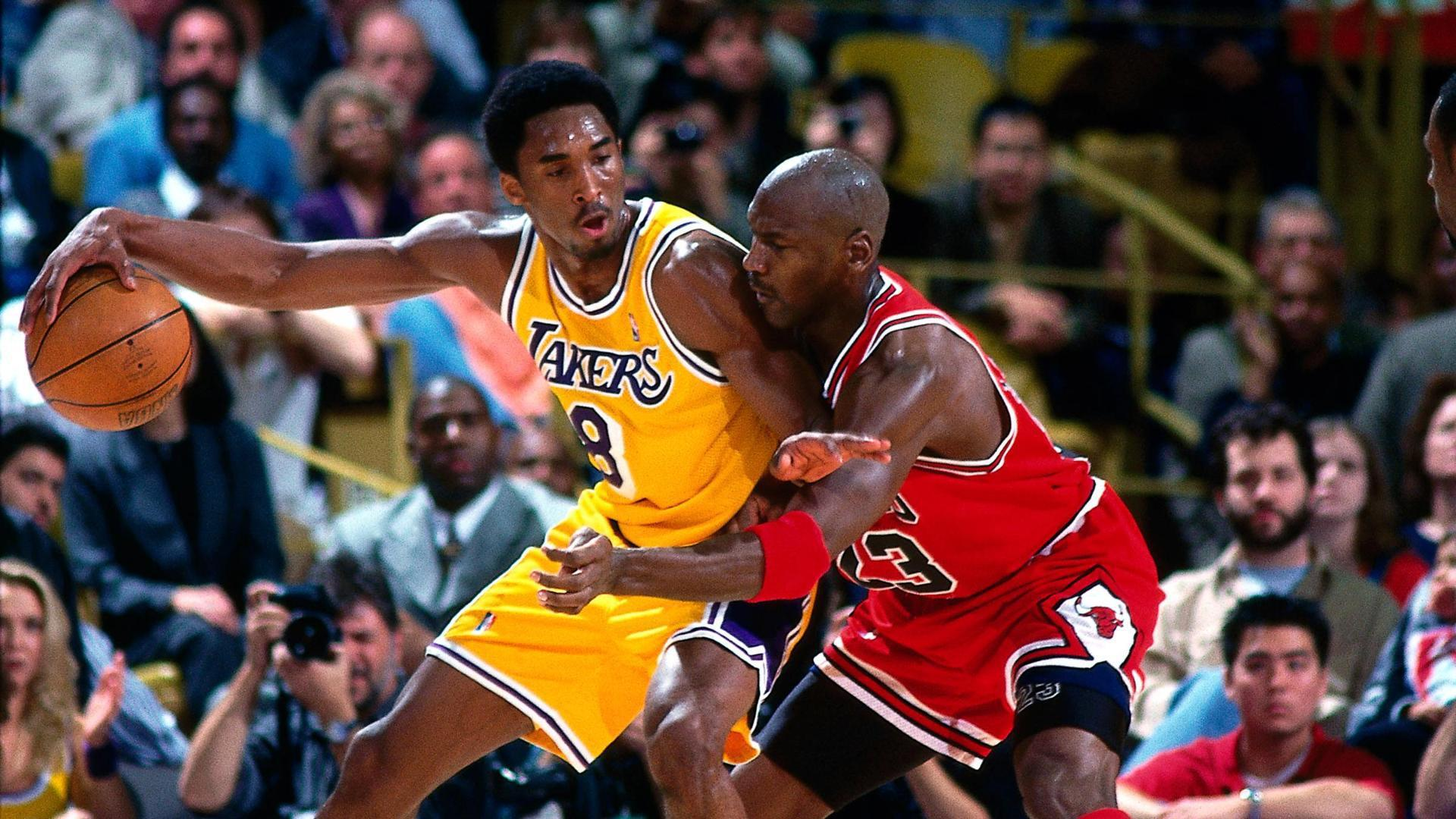 Kobe Vs Jordan Wallpapers Hd Wallpaper Cave