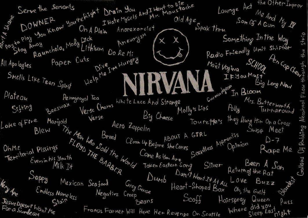 Nirvana Logo Hd Wallpapers Wallpaper Cave