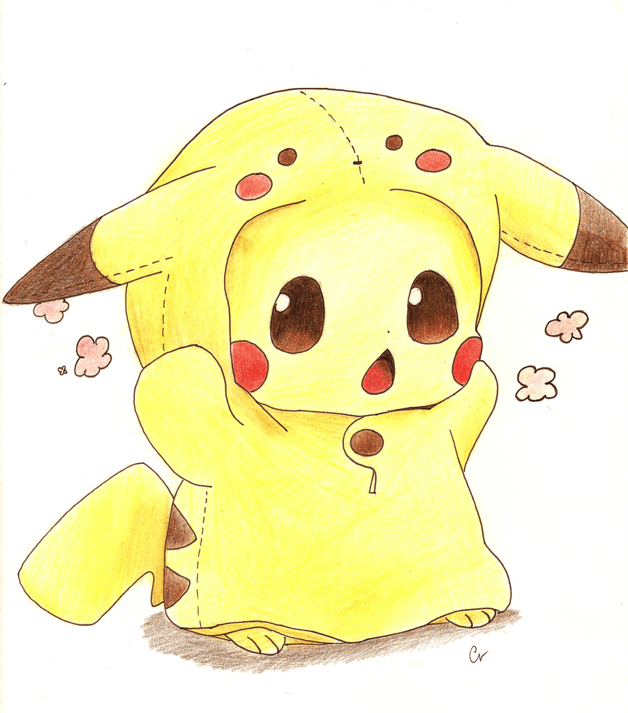 Cute Baby Pikachu Wallpapers Wallpaper Cave