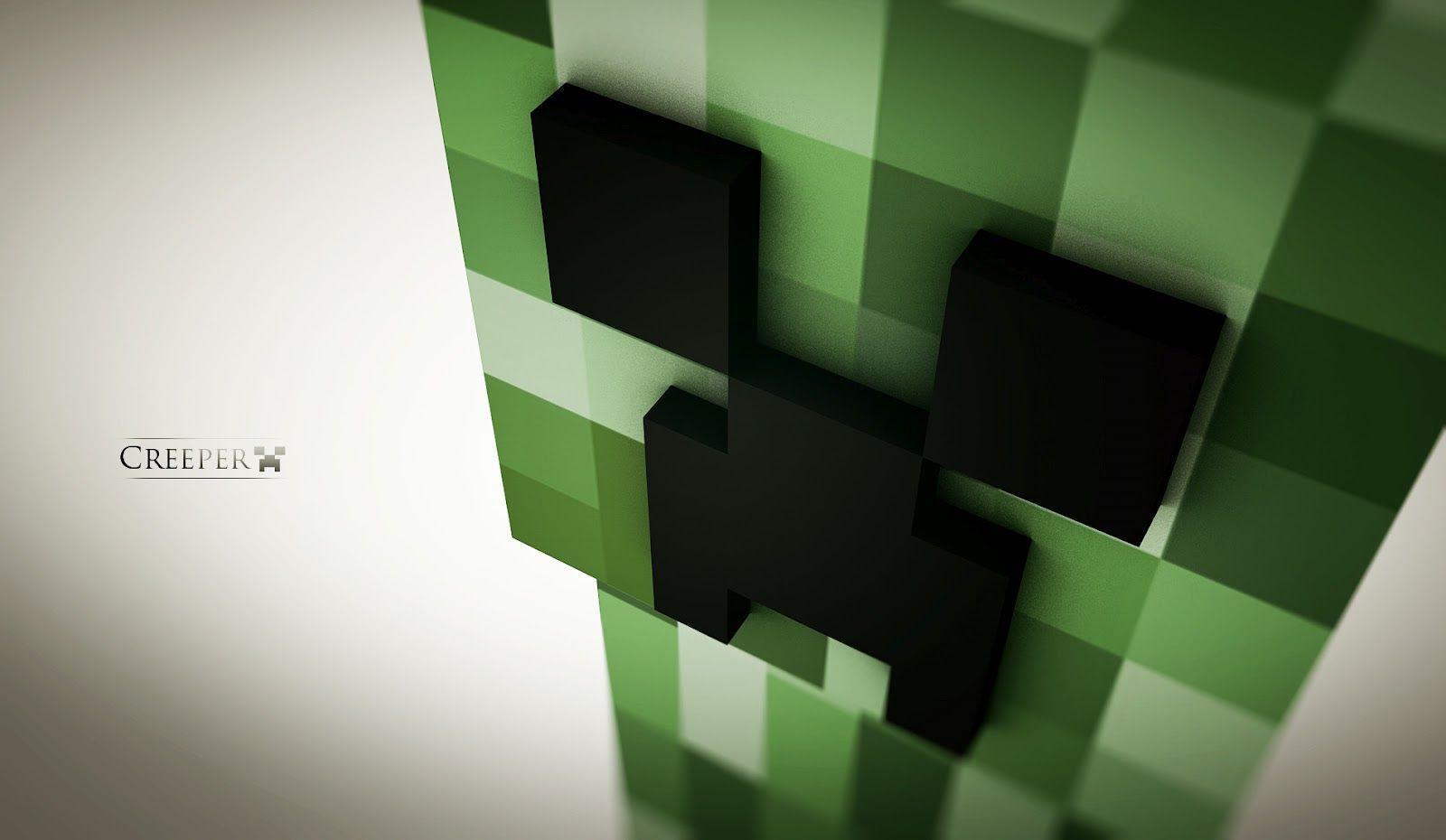 Minecraft Creeper Wallpaper Desktop Gamers Wallpaper 1080p